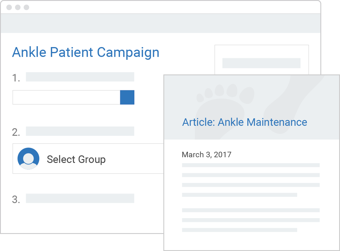 manage patients online