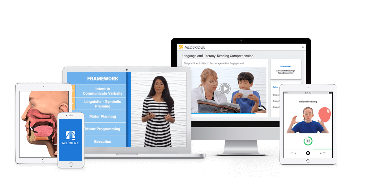 MedBridge Solution for Speech Pathologists